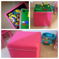 duplo table with storage storage diy awesome little ottoman at target on sale for 20