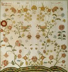 Embroidery Designs For Bed Sheets For Hand Embroidery American Needlework In The Eighteenth Century Essay Heilbrunn