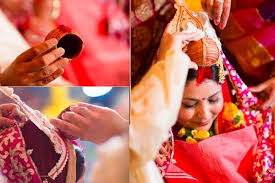 what are some unique wedding rituals and traditions from around