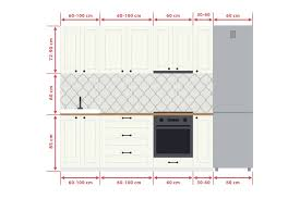 standard kitchen cabinet sizes chart in cm standard measurements to design your kitchen
