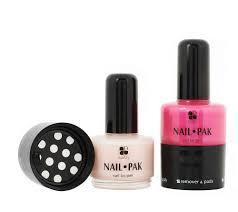 set of 2 nail pak all n u0027 1 polish remover u0026 file by lori greiner