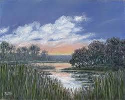lowcountry marsh scene paintings fine art america