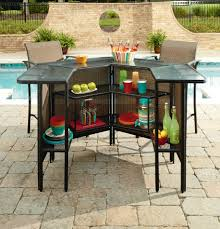 Patio Furniture Bar Height Set - patio furniture bar set roselawnlutheran