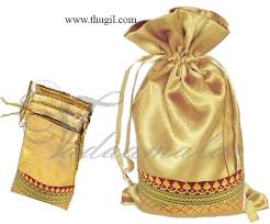 gift bags for weddings thugil online store traditional made weddings cloth gold bags