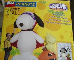 peanuts airblown inflatables peanuts collection on ebay