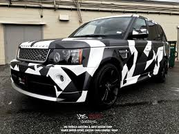 wrapped range rover rrs camo graphics u2013 jrs vehicle customs u0026 auto design corp