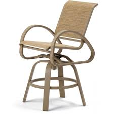 Patio Chairs Bar Height Patio Set With Swivel Chairs Patio Decoration