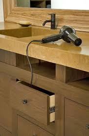 electrical outlet in vanity drawer bath ideas juxtapost