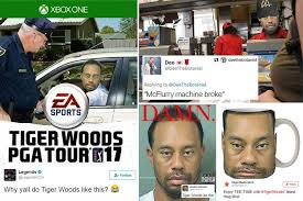 Tiger Woods Memes - tiger woods mugshot goes viral as trolls mock the golfer with