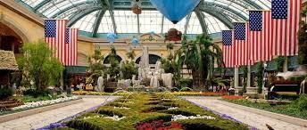 Bellagio Botanical Garden Just Beyond Bellagio S Gracious Lobby Lies The Conservatory