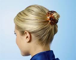 hair bun clip bun clip