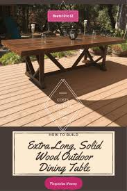 Extra Long Dining Table Seats 12 by Best 10 Outdoor Dining Rooms Ideas On Pinterest Mismatched