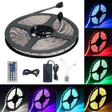rgb led strip lighting led light strip kit targher rgb led strip waterproof smd 5050 rgb