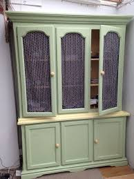 country style dresser glass door panels very attractive in