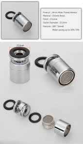 Compare Prices On Swivel Faucet Aerator Online Shopping Buy Low 24mm Male Thread Water Tap Aerator Water Saving Device Faucet