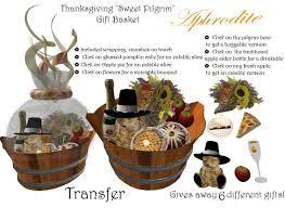 second marketplace thanksgiving sweet pilgrim gift basket