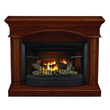 shop style selections 23000 btu vent free gas fireplace with