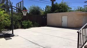 Backyard Basketball Hoops The Spacious West Hollywood House With Big Backyard And A