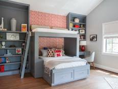 Stylish Kids Bunk Beds HGTV - Kids room with bunk bed