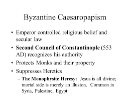 Council Of Constantinople 553 The Byzantine Empire And Europe To 1000 Ad Ppt
