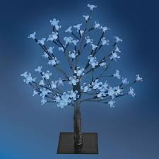led tree the benross christmas workshop 45 cm 48 led blossom tree blue