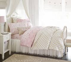Pink And Brown Comforter Sets Ballerina Sheet Set Pottery Barn Kids