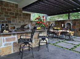 Outdoor Kitchens Outdoor BBQs Outdoor Gourmet Kitchens Paver - Backyard bbq design
