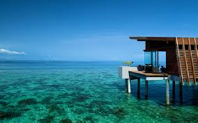 clearoceanwater maldives aqua villa ocean crystal clear water
