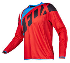 fox motocross suit fox racing flexair seca jersey revzilla