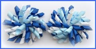 white and blue bows welcome to korksnkurls here you will find all your school
