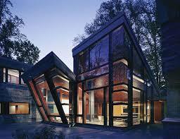 glass house design home