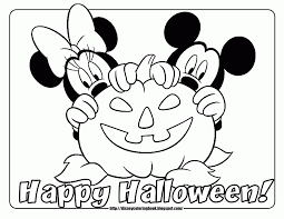 free printable halloween disney coloring pages for kids coloring