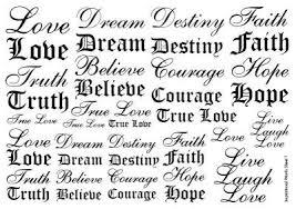 letter number word temporary tattoos henna tattoos sheet