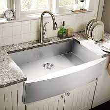 what size undermount sink fits in 30 inch cabinet calaspa 30 inch 30 x 21 x 9 apron farmhouse handmade kitchen sink 18 stainless steel single bowl undermount