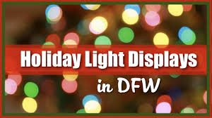 Lights Dfw Light Displays Dfw Great List Of And