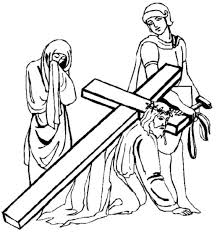 100 cross color pages stations of the cross coloring posters