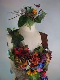 Flower Fairy Halloween Costume Dream Bohemian Mother Nature Flower Fairy Halloween Costume Gown
