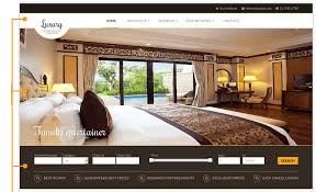 Free Real Estate Website Template by Luxury Hotel Joomla Template Real Estate Templates Joomla