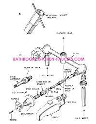 kitchen faucet diverter valve faucet bath faucet shower diverter stuck rv shower faucet valve
