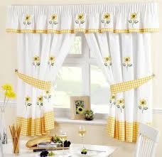 Sunflower Valance Curtains Sunflowers Tie Up Kitchen Curtains Tie Up Kitchen