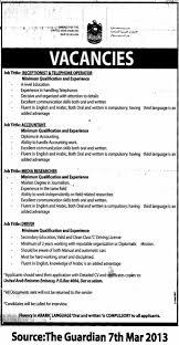 Machine Operator Job Description Accountant Receptionist U0026 Telephone Operator Media Researcher