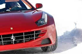 ferrari front view we hear ferrari v 12 engines will get mild hybrid tech not turbos