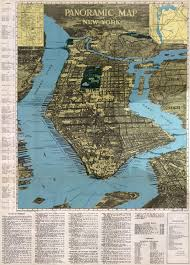 Map Of Ny City The Streets Of New York