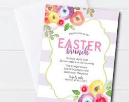 easter brunch invitations easter brunch invite etsy