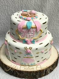 tribal baby shower cake baby shower cakes pinterest tribal