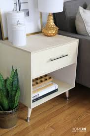 Modern Side Table Diy Mid Century Modern Side Table Home Made By Carmona