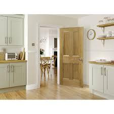 4 panel doors interior deanta internal kingston oak veneer 4 panel door