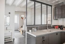 cuisine architecte verriere entre cuisine et salon 4 famille marion lano235