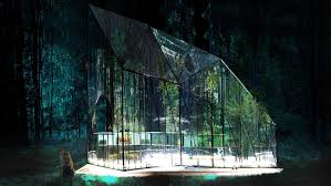 modern green house ethereal glass pavilion redefines the modern greenhouse