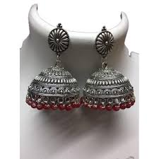 fancy jhumka earrings fancy brass jhumka at rs 200 set chitrakut colony jaipur id